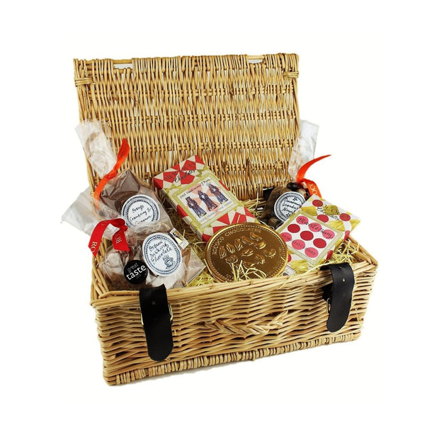 Small Christmas Wicker Hamper