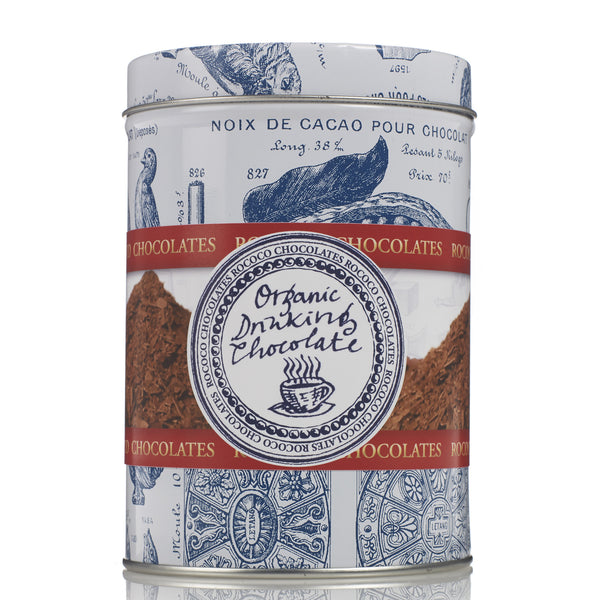 Plain Organic Drinking Chocolate Tin