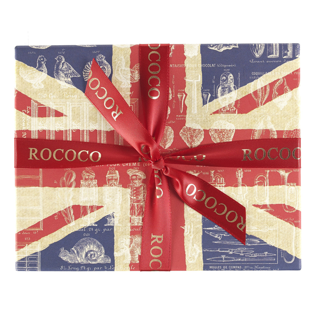Small Union Jack Ganache Selection Box