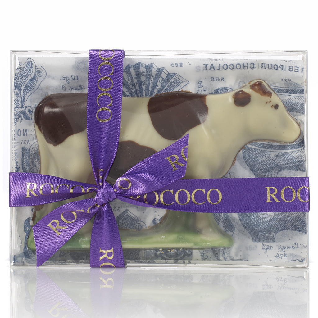Hand Painted Chocolate Hendrika the Cow