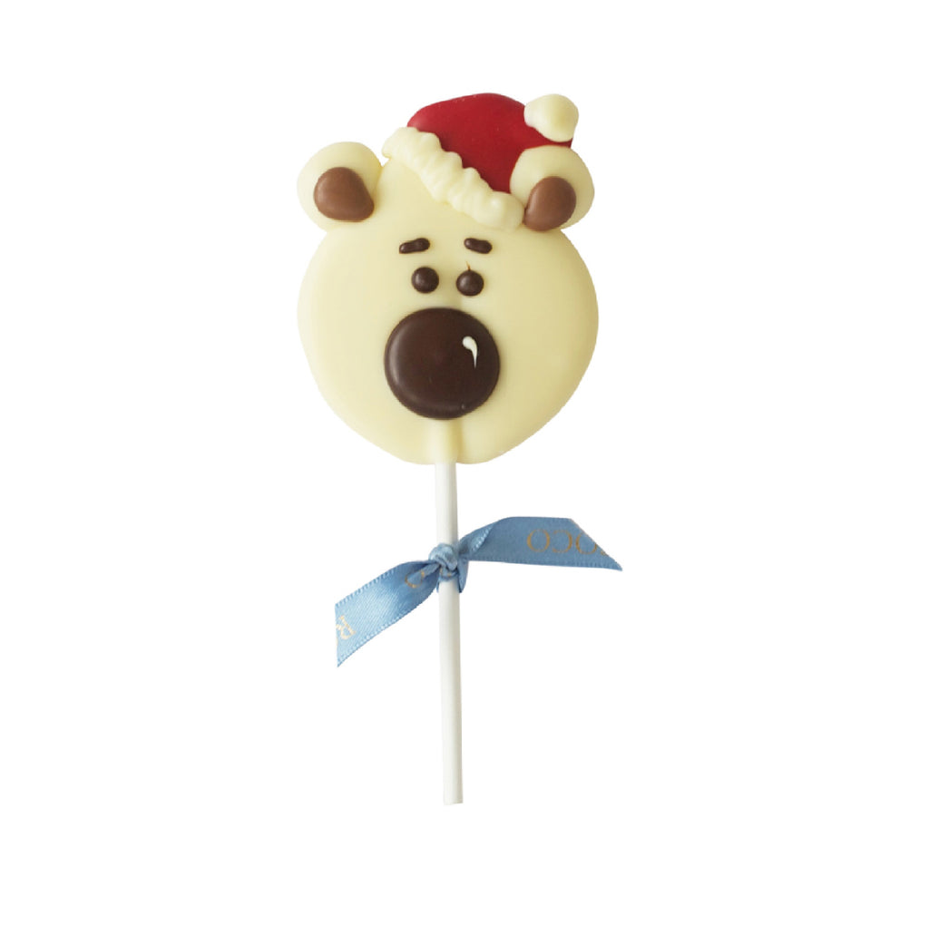 Polar Bear white Chocolate Lolly