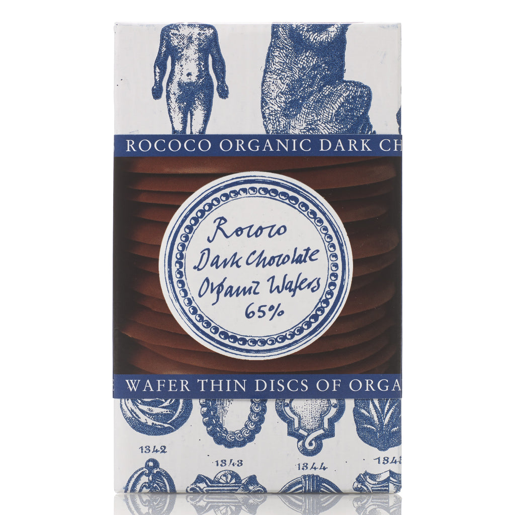 65% Cocoa Organic Dark Chocolate Wafer Thins