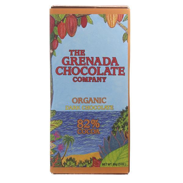 Grenada Chocolate Company 82% Organic Dark Chocolate