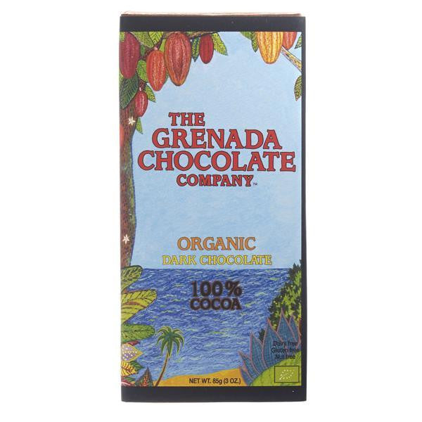 Grenada Chocolate Company 100% Organic Dark Chocolate