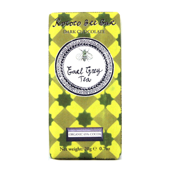 Earl Grey Tea Organic Dark Chocolate Bee Bar