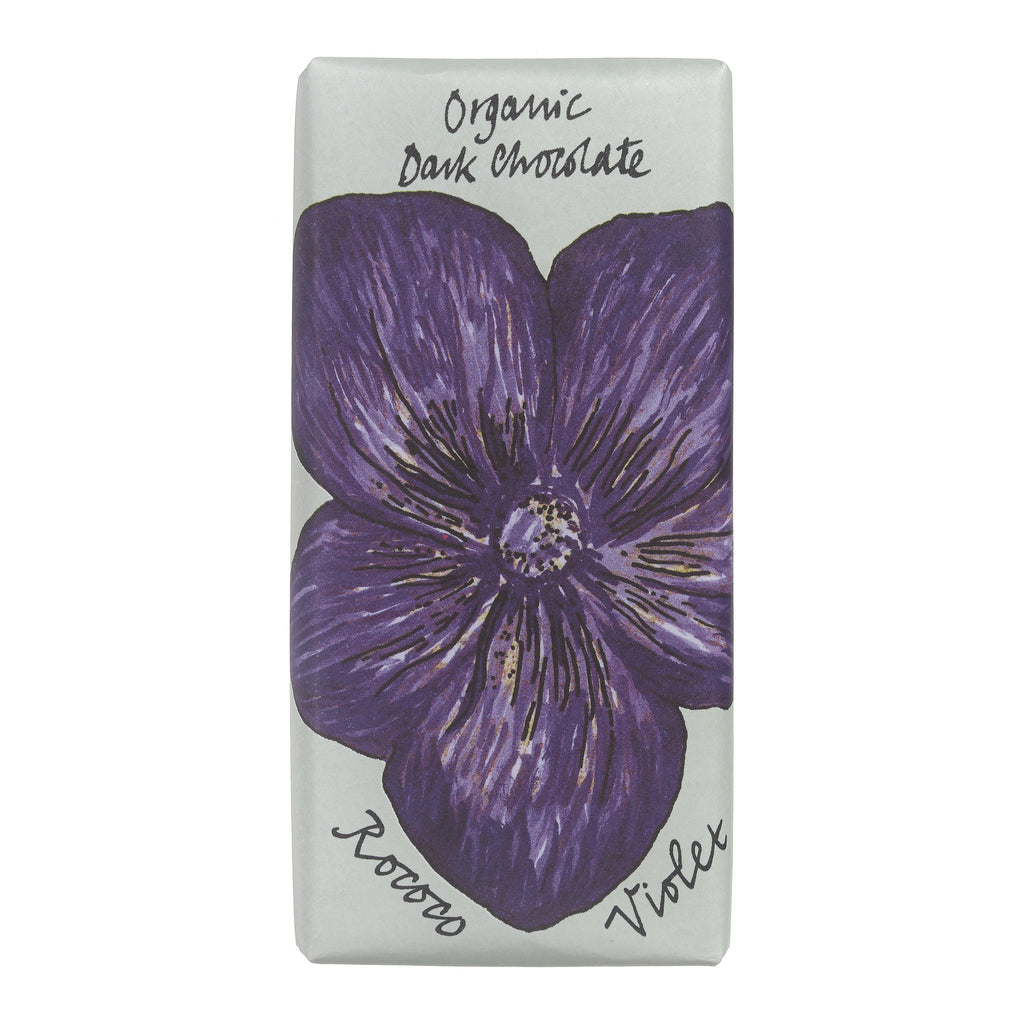 Violet Organic Dark Chocolate Bee Bar