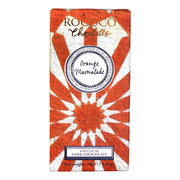 Orange Marmalade Dark Chocolate Artisan Bar