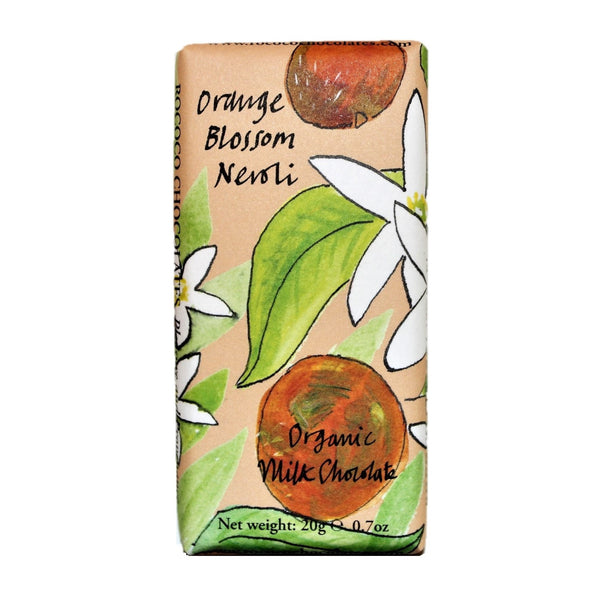 Orange Blossom Neroli Organic Milk Chocolate Bee Bar