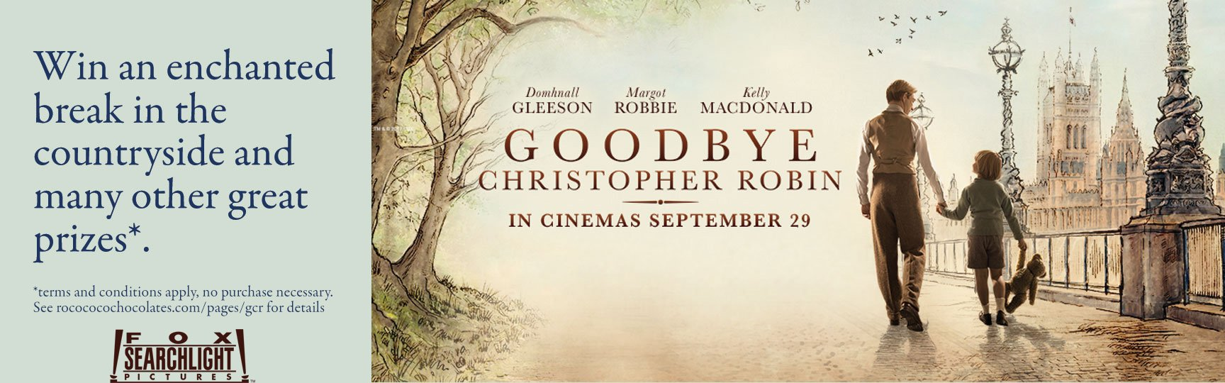 Goodbye Christopher Robin Competition