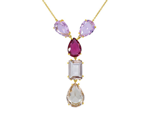 Paradise Crystal Drop Necklace