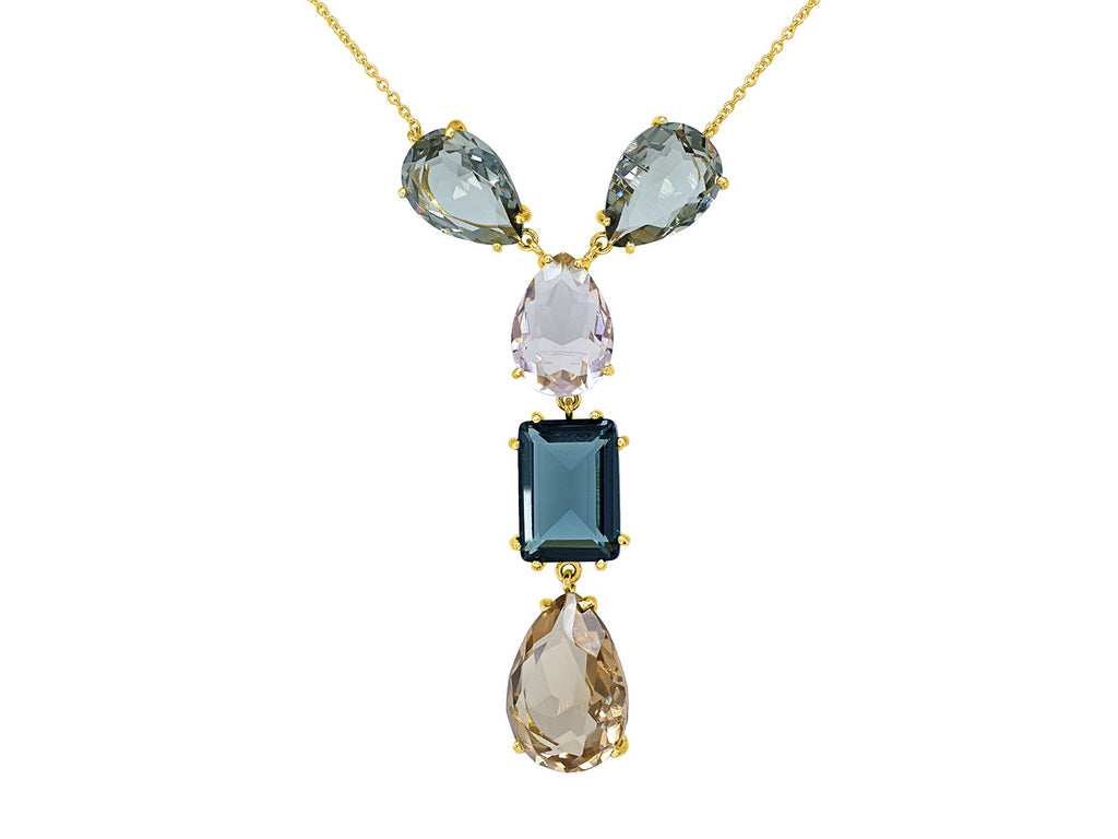 Colorado Crystal Drop Necklace