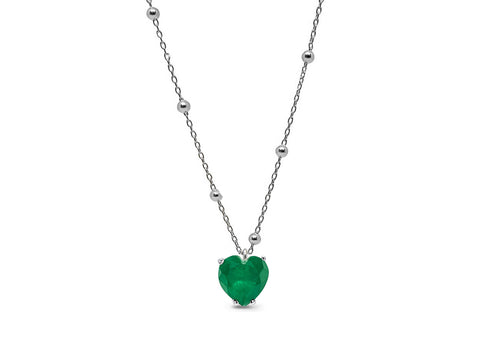 Signature Doublet Heart Pendant Necklace