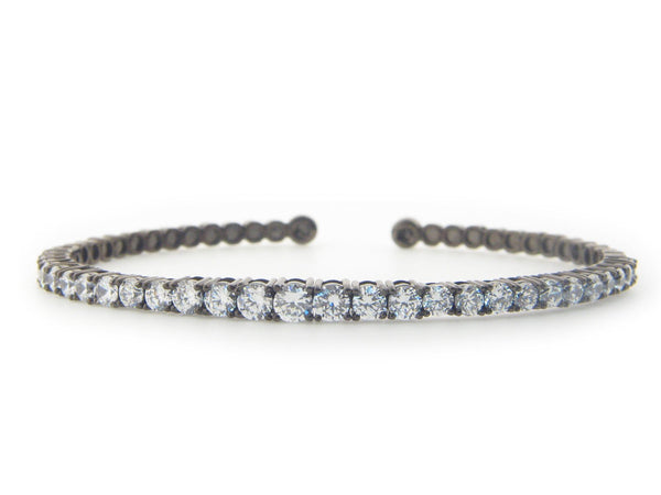 Degrade' Riviera Crystal Bangle