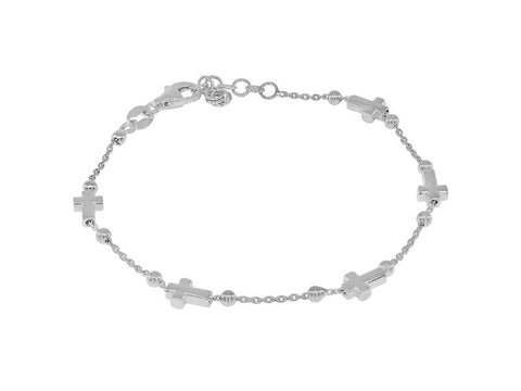 Sliding Crosses Bracelet