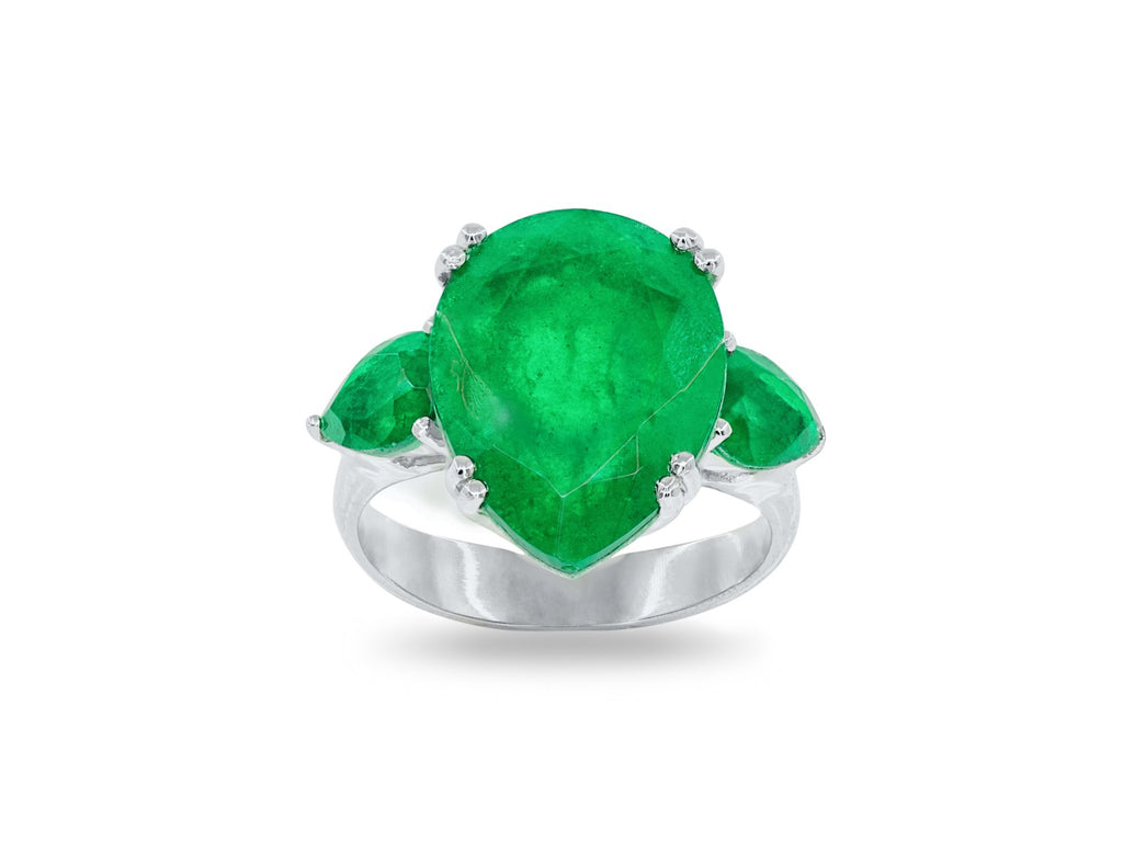 Moderno Colombia Estate Signature Stone Ring