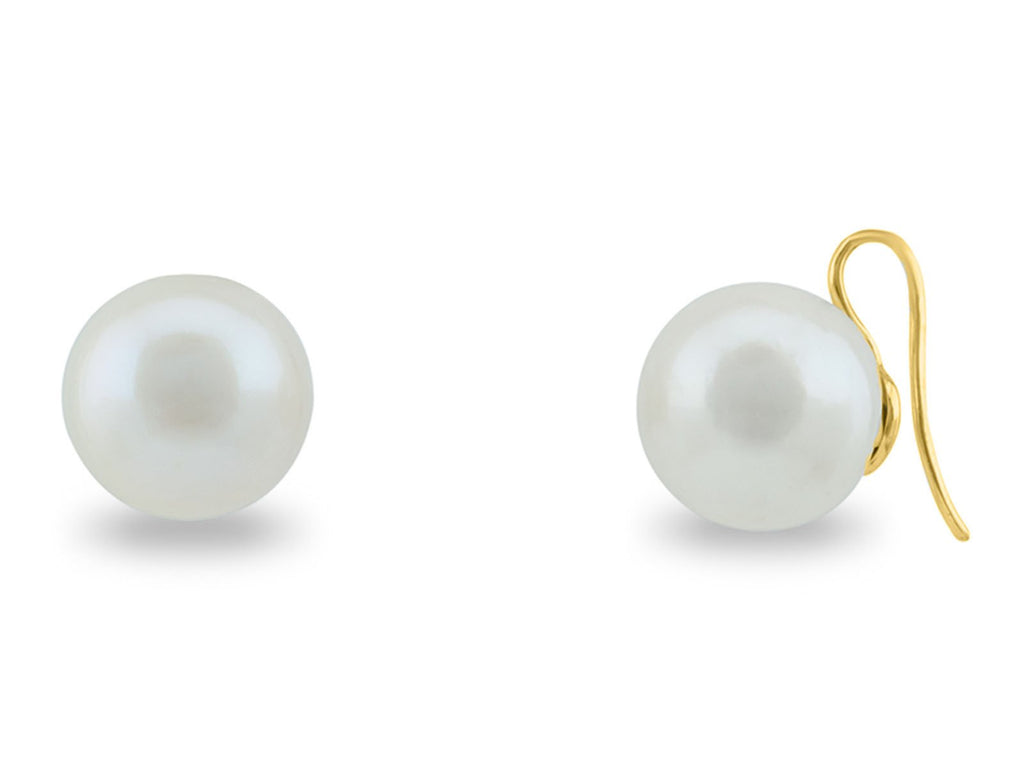 Luxe Pearl Hook Earrings