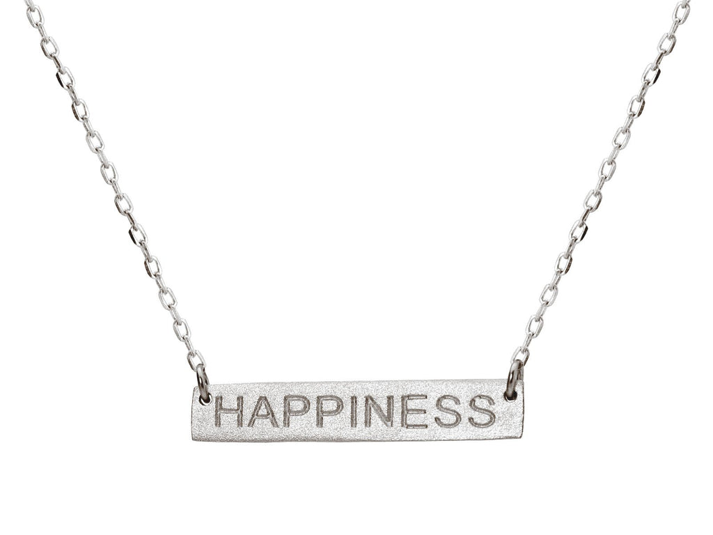 Happiness Bar Necklace