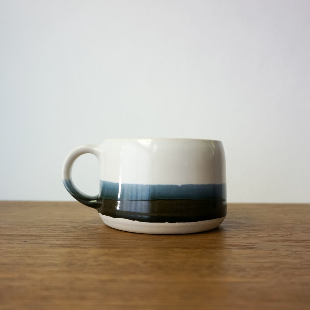 Latte Mug in Black