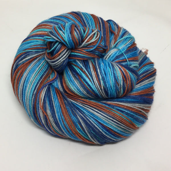 Kingfisher Five Stripe Self Striping Yarn