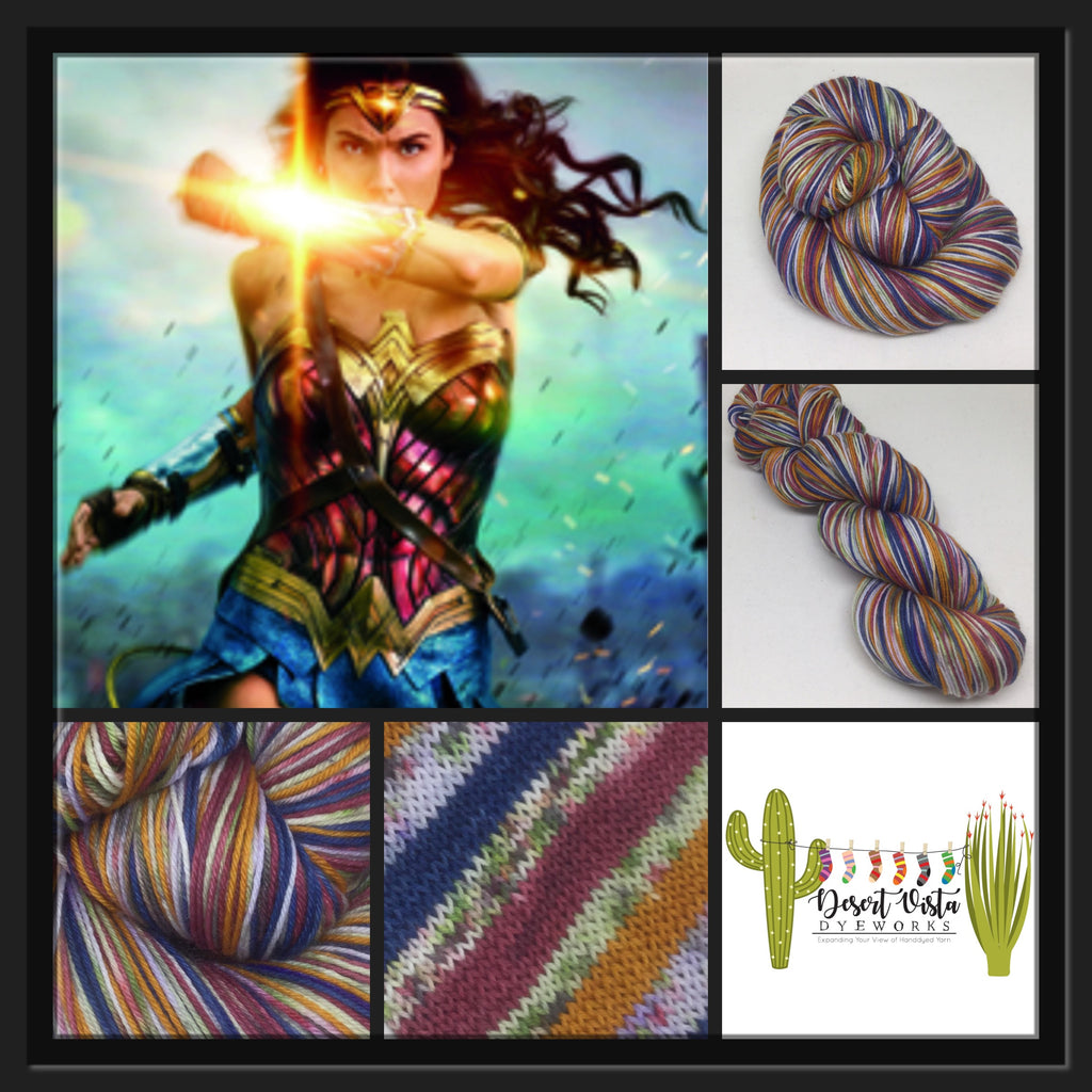 Wonder ZomBody Woman Six Stripe Self Striping Yarn