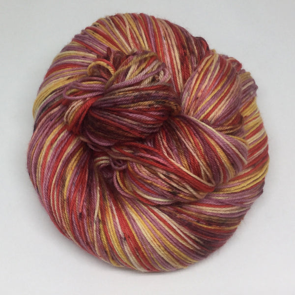 Crawfish Boil Four Stripe Self Striping Yarn