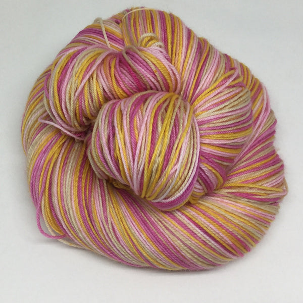 Butternut Cake Four Stripe Self Striping Yarn