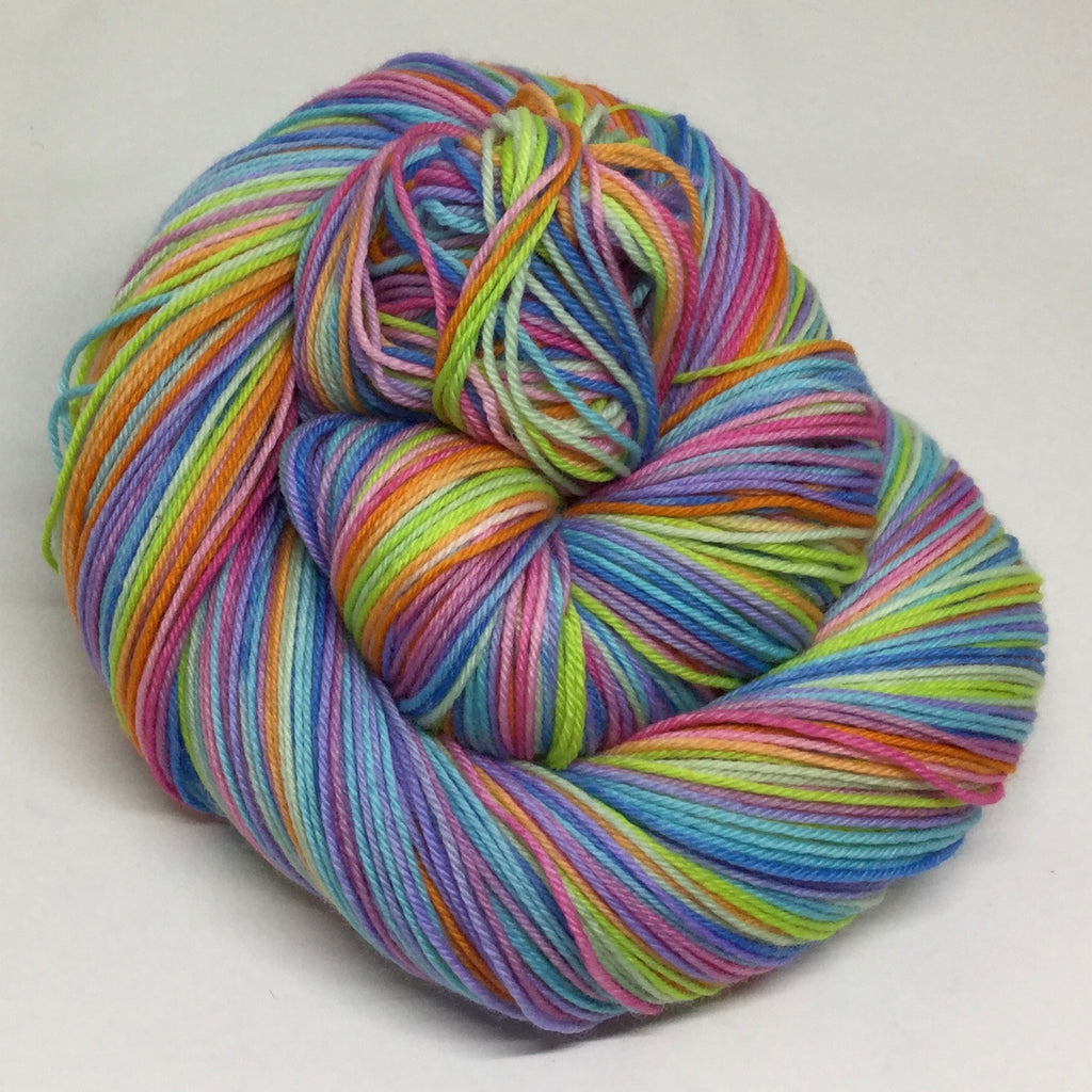 Resolutions Ten Stripe Self Striping Sock Yarn