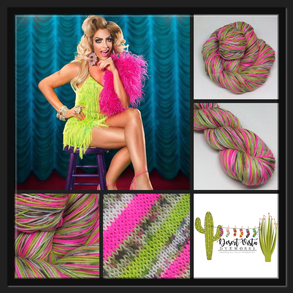 Alyssa ZomBody Edwards Four Stripe Self Striping Yarn