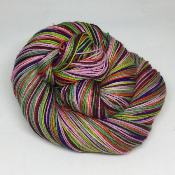 7 Years 7 Colors Seven Stripe Self Striping Yarn