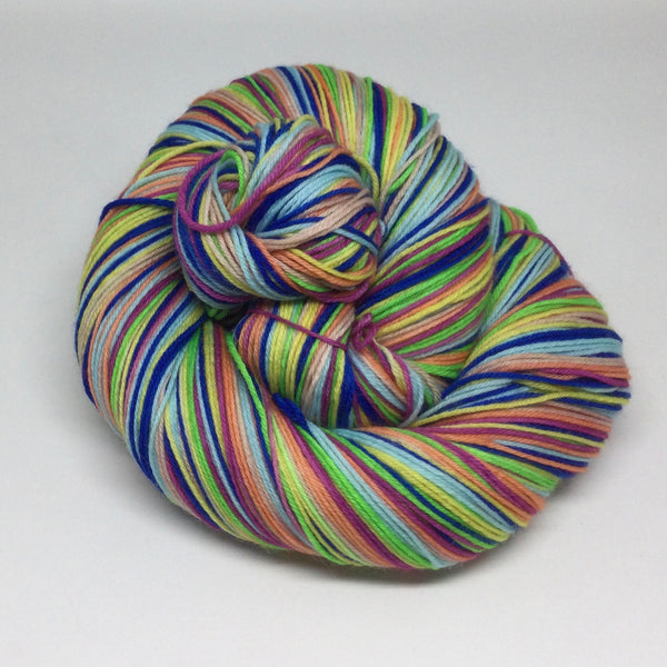 Dollywood Seven Stripe Self Striping Sock Yarn