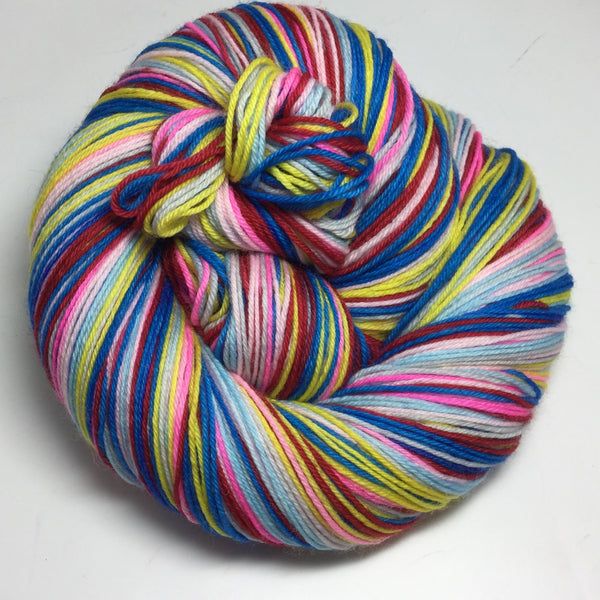 Chinese Opera Seven Stripe Self Striping Yarn