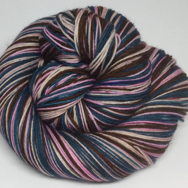 Night Blossoms Four Stripe Self Striping Yarn