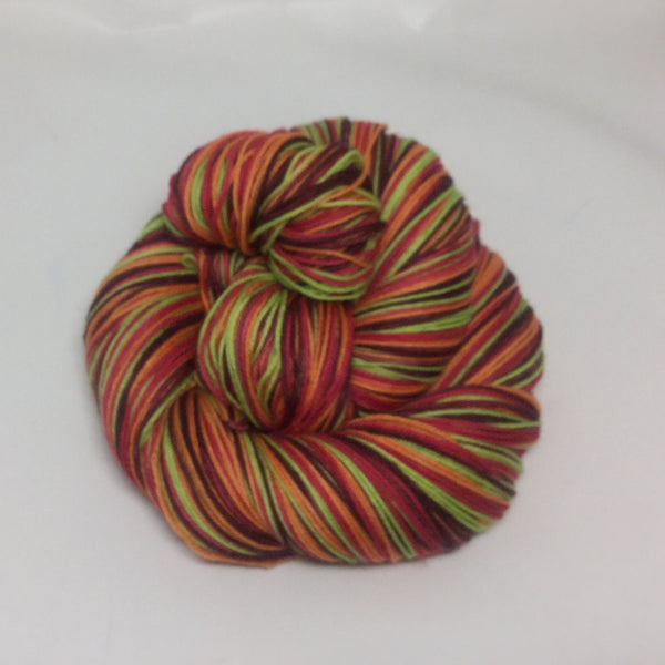 Sangria Four Stripe Self Striping Yarn