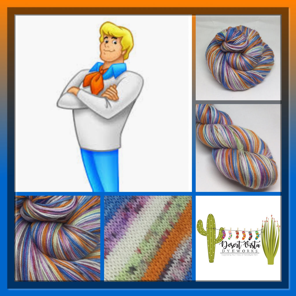 Fred Zombody Jones Six Stripe Self Striping Yarn