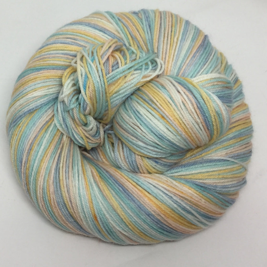 Swimming in the White Sea Six Stripe Self Striping Yarn