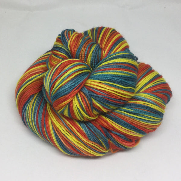 Celebration Day Five Stripe Self Striping Yarn