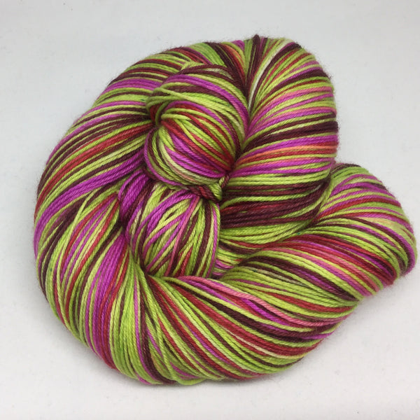 Coleus Six Stripe Self Striping Yarn