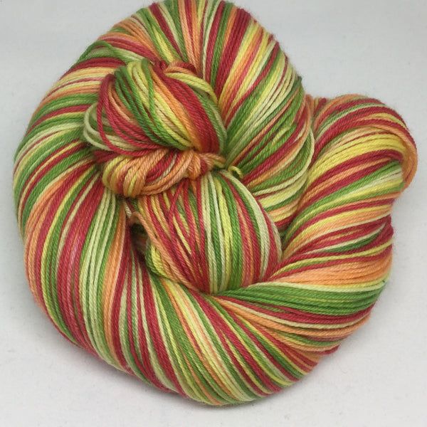Pick Some Peppers Five Stripe Self Striping Yarn