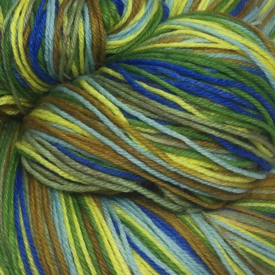 Litha Six Stripe Self Striping Yarn