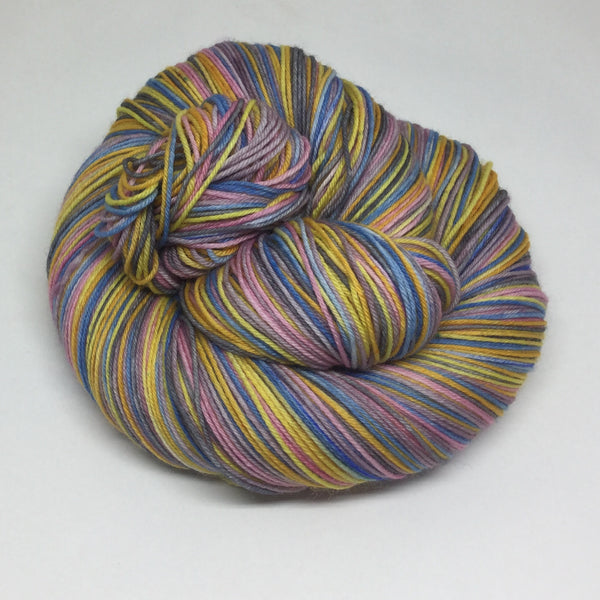 Chopin Ballade Op. 23 No.1 Six Stripe Self Striping Yarn