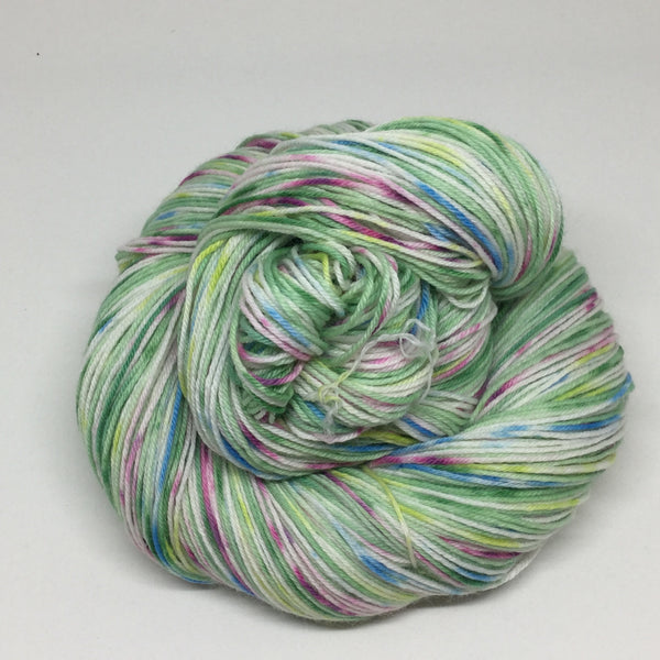 Crystal Ball Frap Six  Stripe Self Striping Yarn