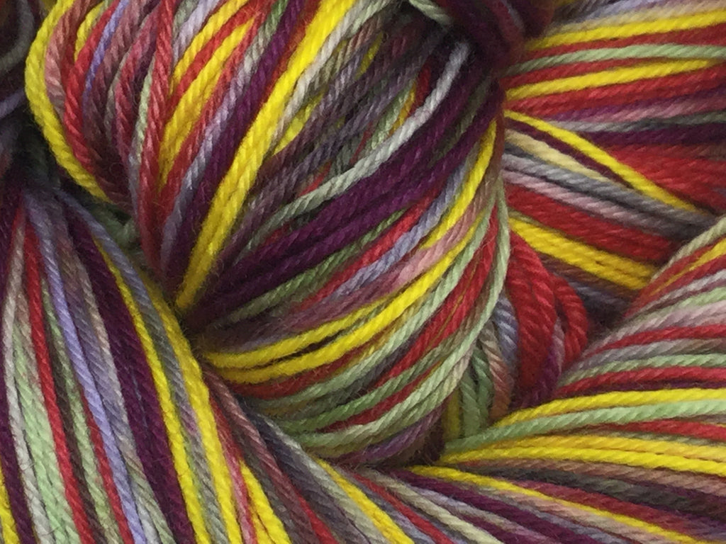ZomBody Is a CodFish Six Stripe Self Striping Yarn