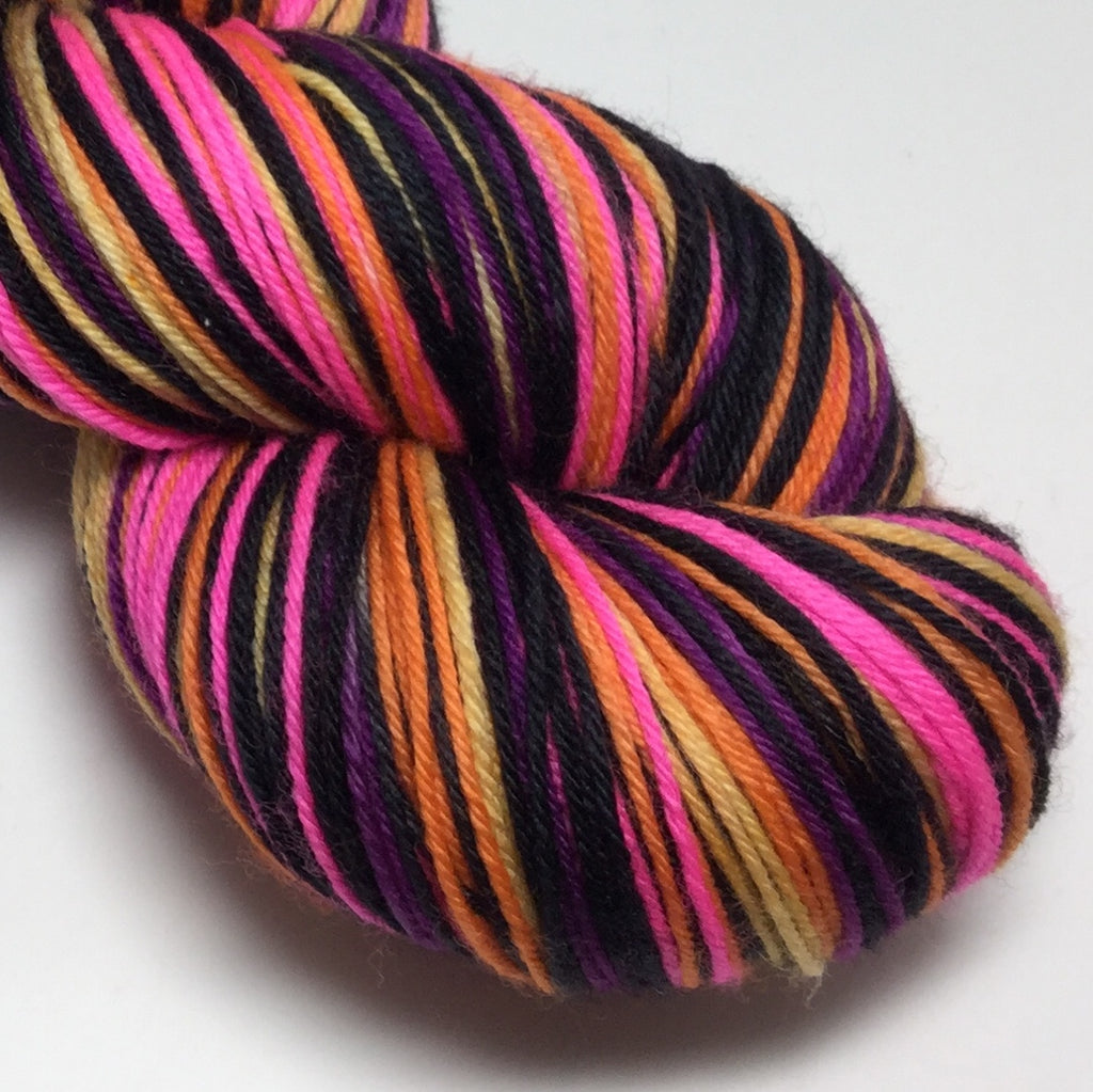 Hong Kong Mickey and Minnie Six Stripe Self Striping Yarn