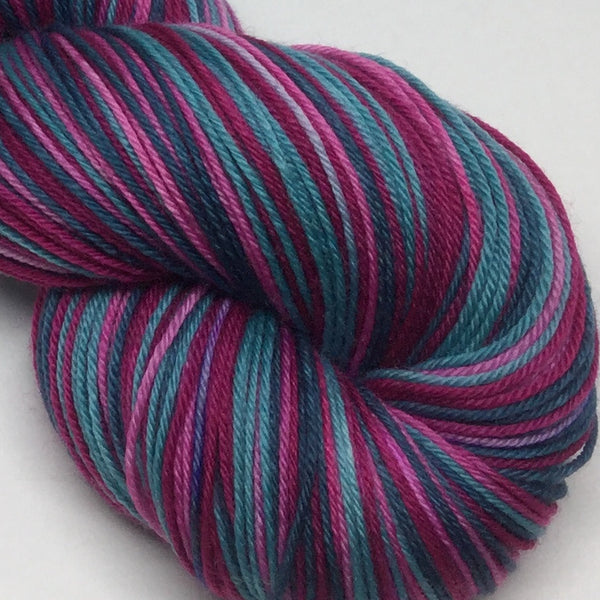 Witches of Eastwick Four Stripe Self Striping Sock Yarn