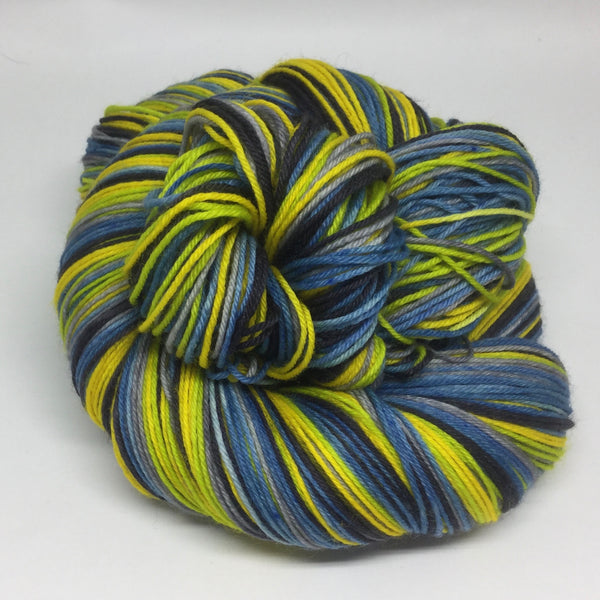 World UFO Day Six Stripe Self Striping Yarn