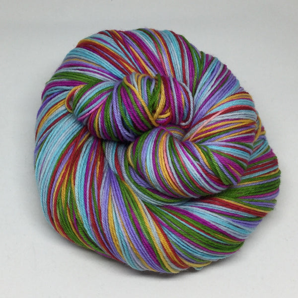 Niemeyer Seven Stripe Self Striping Sock Yarn
