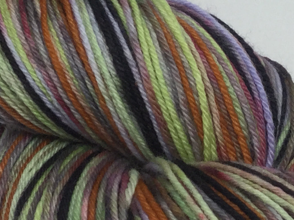 King ZomBody of the Bad Lands Six Stripe Self Striping Yarn