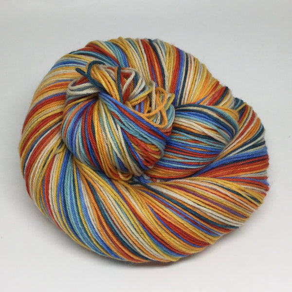 9 Years 108 Months Seven Stripe Self Striping Yarn