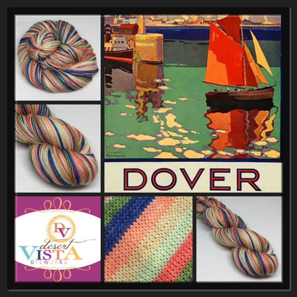 Dover Six Stripe Self Striping Yarn