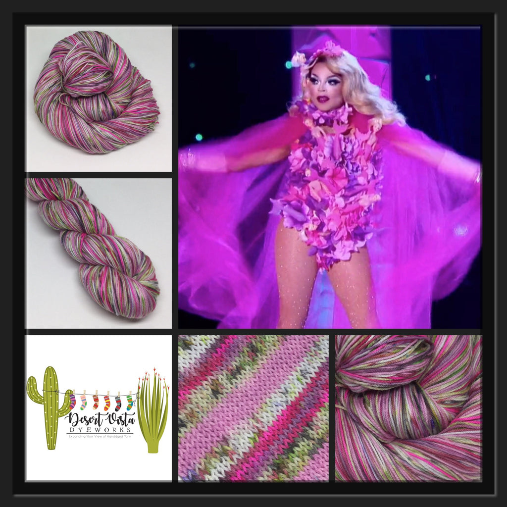 Vanjie ZomBody Mateo Four Stripe Self Striping Yarn
